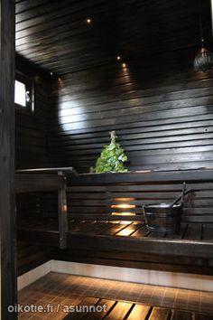 Black sauna / Musta sauna - dream home