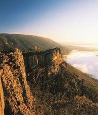 Vista sul mare da una montagna, Grampians, Victoria | Australia