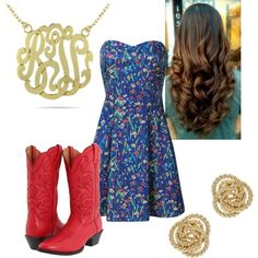"""""""Cowgirll Chic"""" by lizzie-boyette on Polyvore"""