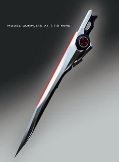 Arm blade anime sword