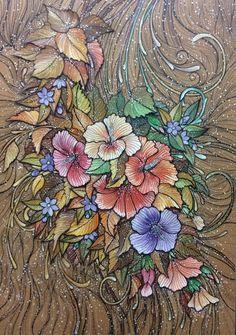 LineartDQD by duongquocdinh on DeviantArt Traditional Artwork, Body Painting, Flower Art, Line Art, Doodles, Butterfly, Birds, Deviantart, Embroidery