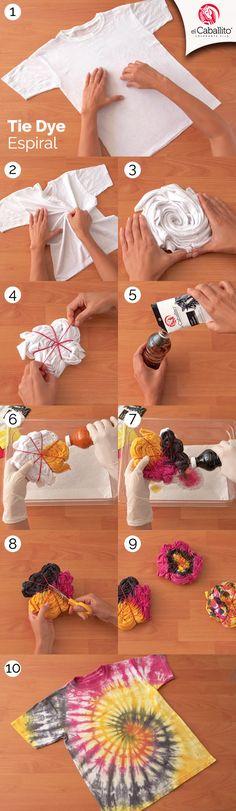 Discover recipes, home ideas, style inspiration and other ideas to try. Tye Dye, Tie Dye Folding Techniques, Tie Dye Tutorial, Diy Tie Dye Shirts, Textile Dyeing, Tie Dye Crafts, Tie Dye Fashion, Shibori Tie Dye, How To Tie Dye