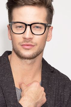6332b284ec9 Infinity Black Acetate Eyeglasses from EyeBuyDirect. Discover exceptional  style