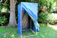 How to Make a Homemade Camping Shower
