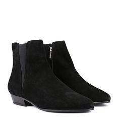 Isabel Marant black Crisi flat suede ankle boots farfetch neri Camoscio El Pago De Descuento Visa hNGPXFa