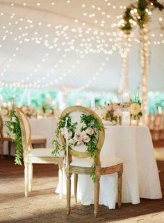 Decoração das cadeiras do casamento 2017. Marque a diferença! Image: 6