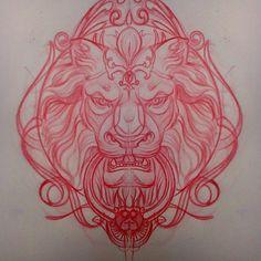 tattoo lion