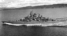 USS Tennessee BB43 1943