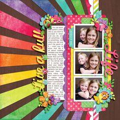 Hello Sunshine by Mari Koegelenberg  Template Set 118: Burst of Fun 2 by Cindy Schneider