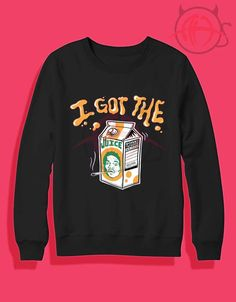 Chance The Rapper-I Got The Juice Crewneck Sweatshirt