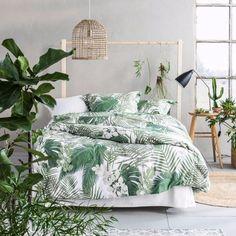 zielona sypialnia