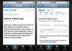 Apps para Trabajo Freelancer - Trabajos por Internet^^. iFreelancer - Podras recibir tus empleos freelance en tu dispositivo iOS con la notificación de inserción. solo en http://herefreelancer.com/ tambien puedes visitar nuestro blog http://herefreelancer.com/ blog/