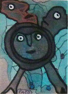 """Léporello """"les boulomanes ? ils ne perdent pas la boule !"""" kleine Zeichnung B All Over The World, Decorative Plates, Painting, Art, Stone, Random Stuff, Drawing S, Art Background, Painting Art"""