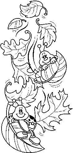 FALLING_LEAVES_BW.bmp (588×1221) Art Drawings For Kids, Drawing For Kids, Cute Drawings, Coloring Book Pages, Coloring Sheets, Earth Day Coloring Pages, Autumn Crafts, Autumn Activities, Rock Crafts