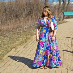 Fields of Pretty Floral Maxi- Shop Impressions