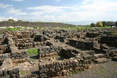 """The Village of Capernaum. Jesus """"headquarters"""" throughout much of his ministry"""