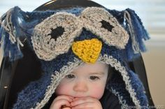 Tips, tricks & a free pattern for making your own Owl Hat Bunny Hat, Owl Hat, Make Your Own, How To Make, Free Pattern, Crochet Hats, Beanie, Pretty, Tips