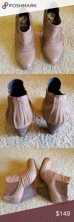 Vince Camuto booties Like new Vince Camuto Shoes Ankle Boots & Booties