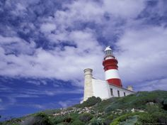 Photographic Print: Agulhas Lighthouse, South Africa Poster by Walter Bibikow : Yosemite National Park, National Parks, Wall Art For Sale, Find Art, Framed Artwork, Paper Texture, South Africa, Poster Prints, Lighthouses