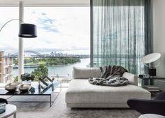 luxurious minimalism in a sydney penthouse | @meccinteriors | design bites | #livingroom