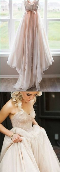 2017 Wedding Dresses Sweetheart Champagne Bowknot Tulle with Lace JKW004 Budget Wedding Dress, 2017 Wedding, Sweetheart Wedding Dress, Lace Wedding Cakes, Champagne Wedding Dresses, Tulle Wedding Dresses, Wedding Goals, Wedding Ideas, Lace Weddings