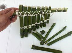 Fabriquer avec du bambou : une flute de Pan… et même un orgue !   Toysfab