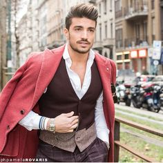 Mdv at the Milan Fashion week - street style #mensfashion www.mdvstyle.com