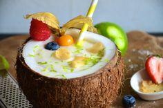 Pudding, App, Desserts, Food, Coconut Smoothie, Clean Foods, Summer, Tailgate Desserts, Deserts
