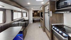General RV Virtual Showroom | Browse RV Floor Plans, Videos Rv Floor Plans, Showroom, Kitchen Cabinets, Flooring, Travel Trailers, How To Plan, Passport, 3d, Explore
