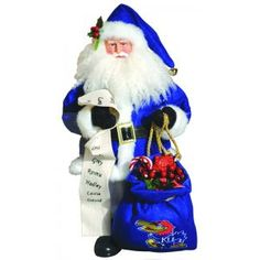Officially licensed merchandise Santa Claus is getting ready to de...