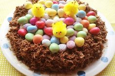 Whether you love Easter cakes, Easter cupcakes, Easter brownies or Easter nests and Simnel cake, you'll love this delicious list of Easter cake ideas. Chocolate Cornflake Nests, Cornflake Cake, Cake Recipes Bbc, Dessert Cake Recipes, Desserts, Easter Bunny Cupcakes, Easter Cake, Simnel Cake, Easter Recipes