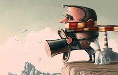 The Wacky Art of Denis Zilber