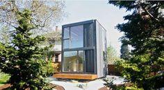 Deze tiny house draai je eigenhandig naar de zon om licht en temperatuur te regelen