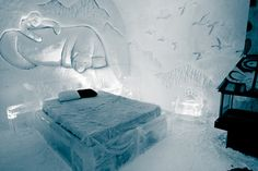 quebec ice hotel - Google Search