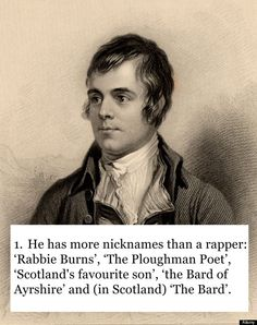 scottish jokes | 15 Reasons Why Robert Burns Is The Coolest Poet Of All Time