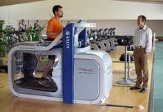 Alter G Anti Gravity Treadmill-Great idea to remove the impact on your joints!