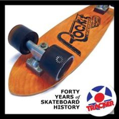 An original Rockit Skateboard wit Tracker Midtracks and #Kryptonics Star Trac wheels, circa 1977. Learn more about Rockit Skateboards in the gnarly 388-page coffee table book TRACKER - Forty Years of Skateboard History. Order the #trackerbook at top profile link @trackertrucks.