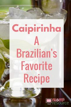 Caipirinha: a Brazilian's favorite recipe. My husband is Brazilian and we love serving this caipirinha cocktail drink recipe when having a party. There are SO many flavors to chose from in addition to the traditional lime recipe there is passion fruit, strawberry, pineapple, kiwi, raspberry - any fruit really! The caipirinha can be served everywhere from a casual party cocktail to a wedding bar. Make it by the pitcher or use it for a party punch. Here is the Brazilian's recipe for making a…