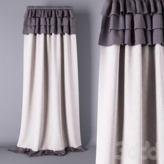 Шторы What a great way to extend curtains Ruffle Curtains, Cute Curtains, Closet Curtains, Beautiful Curtains, Curtains With Blinds, Cortinas Shabby Chic, Rideaux Shabby Chic, Curtain Headings, Chabby Chic