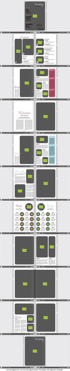 Crea rivista matrimoniale gratis online e stampa a un prezzo conveniente su https://it.magglance.com/rivista-matrimoniale/crea-rivista-matrimoniale  #rivista #magazine #rivista matrimoniale #template #design #modello #esempio #progetta #crea #regalodinozze #layout #idea