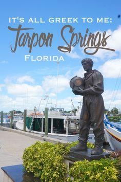 It's All Greek to Me: Tarpon Springs, Florida | CosmosMariners.com