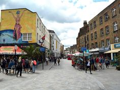 A short walk from Waterloo station and the Old Vic theatre, Lower Marsh is a historic south London street in transition. Built (as its name suggests) on former