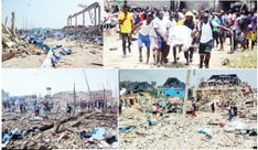 Sunday's explosion that ravaged a community at Abule Ado, a Lagos State suburb attracted commiseration with notable Nigerians, including . Rear Admiral, Emergency Management, Praying To God, Emergency Response, The Atlas, The Agency, Condolences, State Government, Health And Safety