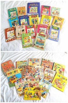 Various Noddy books