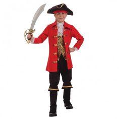 Boys Captain Cutlass Pirate Costume