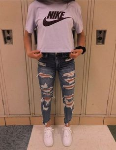 69 The cutest casual summer outfits ideas for teen girls # the Teenager Outfits casual Cutest este Girls ideas Outfits summer Teen Teenager Outfits, School Outfits For Teen Girls, Casual School Outfits, Cute Comfy Outfits, Cool Summer Outfits, Teen Fashion Outfits, Mode Outfits, Freshman High School Outfits, 50 Fashion