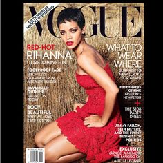 Rihanna cover the November 2012 issue of Vogue for the second time...  The Young, Black, and Fabulous | Celebrity Gossip Never Looked So Good™