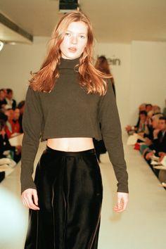Kate Moss en 1993 para Calvin Klein