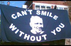 Bill Nicholson #COYS #thfc #spurs #yids #yidarmy #spursflags #tottenham #barmyflags