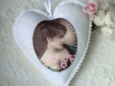 Stoffherz No 18 von White Roses auf DaWanda.com